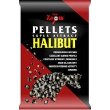 Carp Zoom Halibut Pellets - Fúrt halibutos pellet