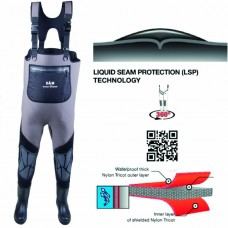 DAM STEELPOWER NEOPRENE WADER BOOT CLEATED