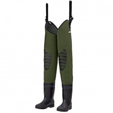 DAM - FIGHTER PRO NEOPRENE HIP WADER CLEATED SOLE