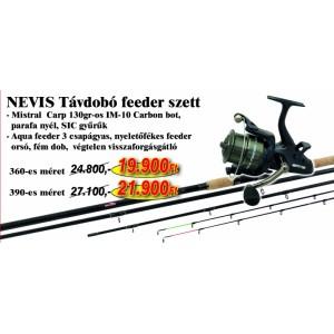 Nevis Távdobó feeder szett