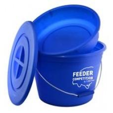 Feeder Competition Etetőanyag keverő vödör tállal és tetővel