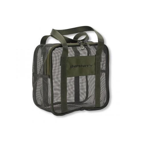 Daiwa Infinity Boilie Mesh Dry Bag XL bojliszárító táska