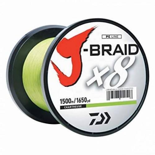 Daiwa J-Braid X8E 3000m chart. fonott zsinór több méretben
