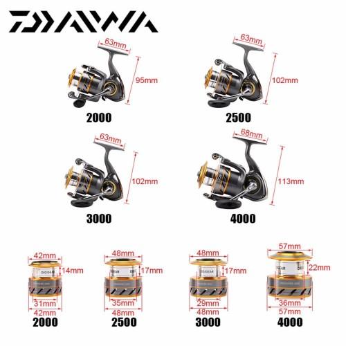 Daiwa crossfire 2500 elsőfékes orsó