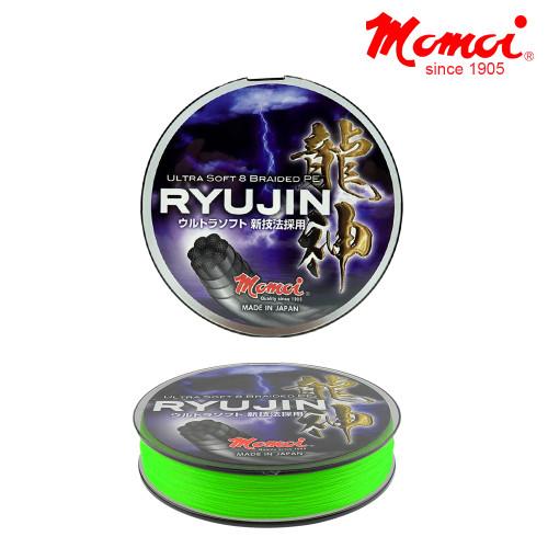 Momoi Ryujin fonott zsinór fluo zöld 130m 0,18mm