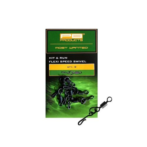PB Products Flexi Ring Swivel - gyorskapocs