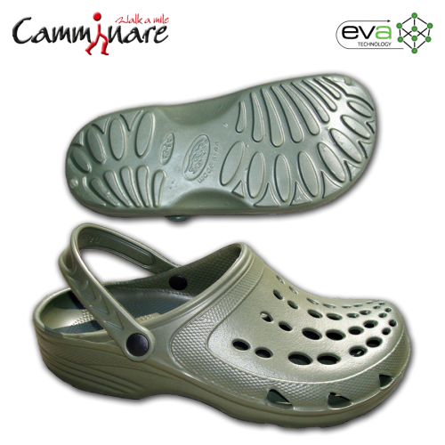 Camminare Free Time Clogs EVA papucs - military green
