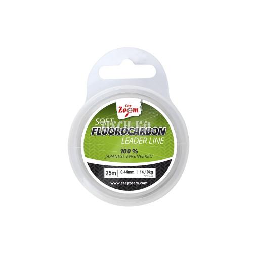 CZ Lágy fluorocarbon előkezsinór, 0,49mm, 17,30kg, 25m