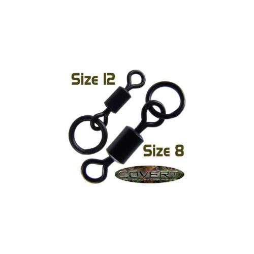 Gardner - Covert Flexi-Ring Swivel 12-es méret 10db