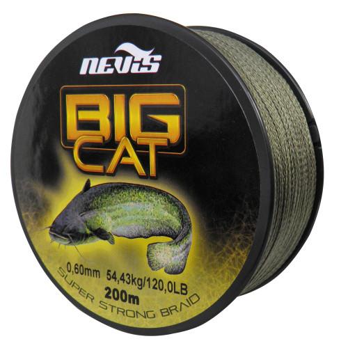 Big Cat Fonott zsinór 200m 0,50mm