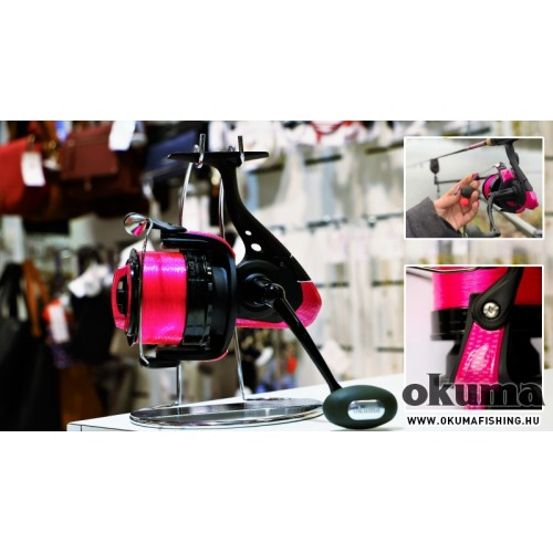 OKUMA Custom Black Pink Princess orsó 60-s