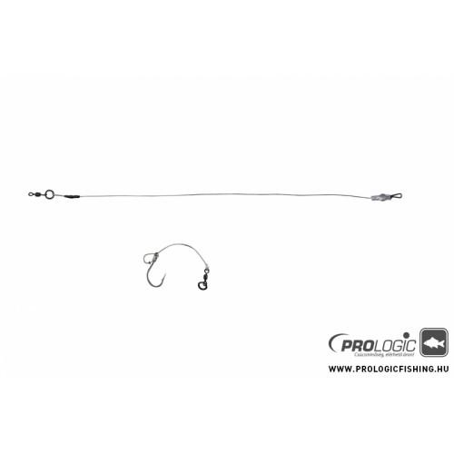 Prologic Chod - Hinged Stiff Rig STD 4cm 25lbs/XC8 Size 4 3pcs BL előkötött szerelék