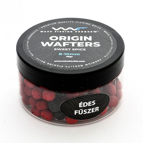 Wave Products - Origin Mini Wafter fluoro piros-fekete 10-12mm