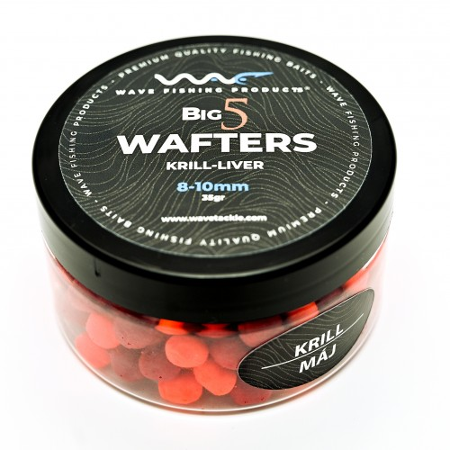 Wave Products - Big5 Mini Wafter fluoro piros-narancssárga 10-12mm