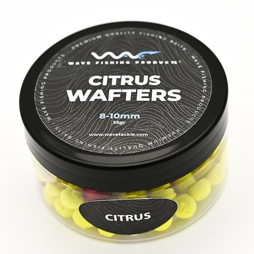 Wave Products - Citrus Mini Wafter fluoro sárga-fehér-piros 10-12mm